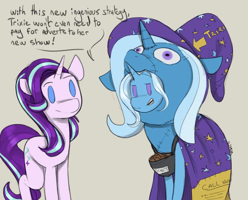 the great and powerful trixie starlight glimmer sinrar - 9558958080