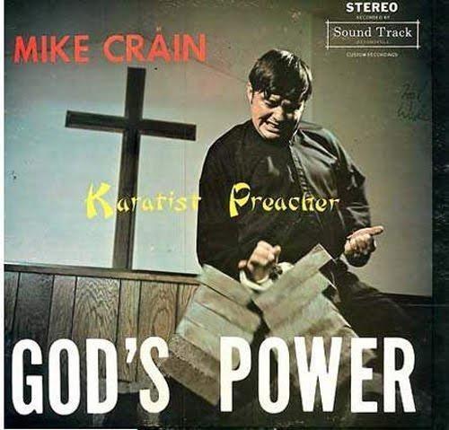 Poster - STEREO Sound Track MIKE CRÁIN Kuyarist Preacher GOD'S POWER