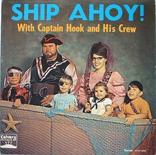 Poster - SHIP AHOY! With Captain Hook and His Crew Calvary Steree AVns