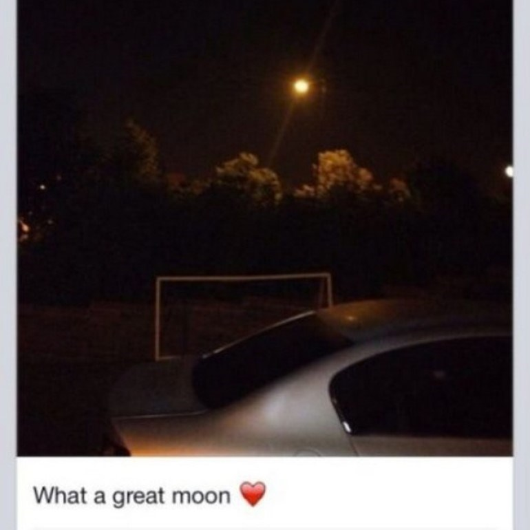 Sky - What a great moon