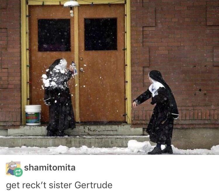 Snow - shamitomita get reck't sister Gertrude