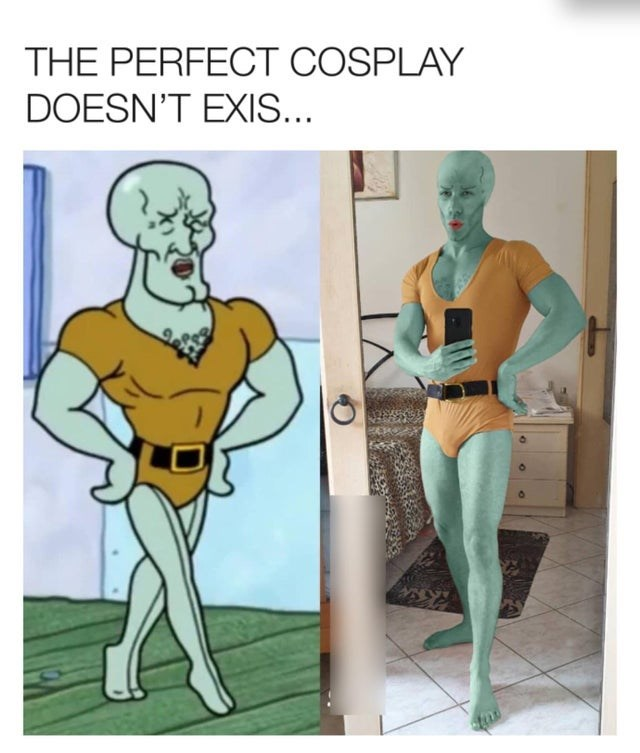 Cartoon - THE PERFECT COSPLAY DOESN'T EXIS...