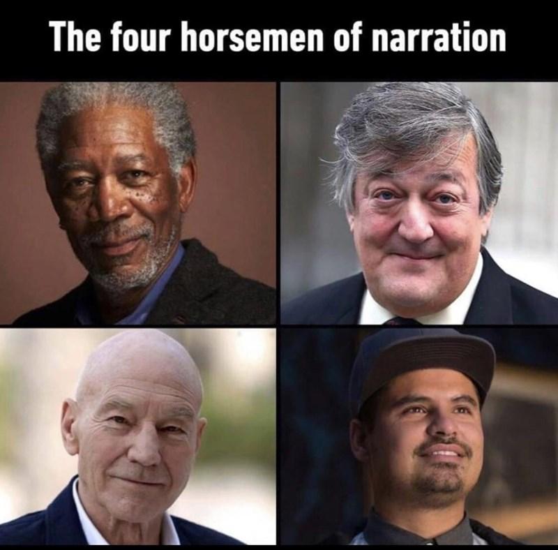Facial expression - The four horsemen of narration