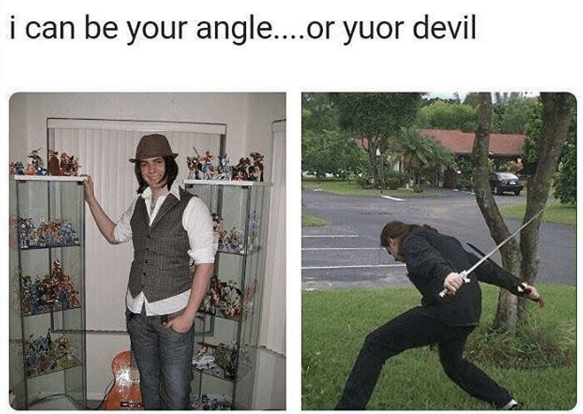 Tree - i can be your angle.or yuor devil