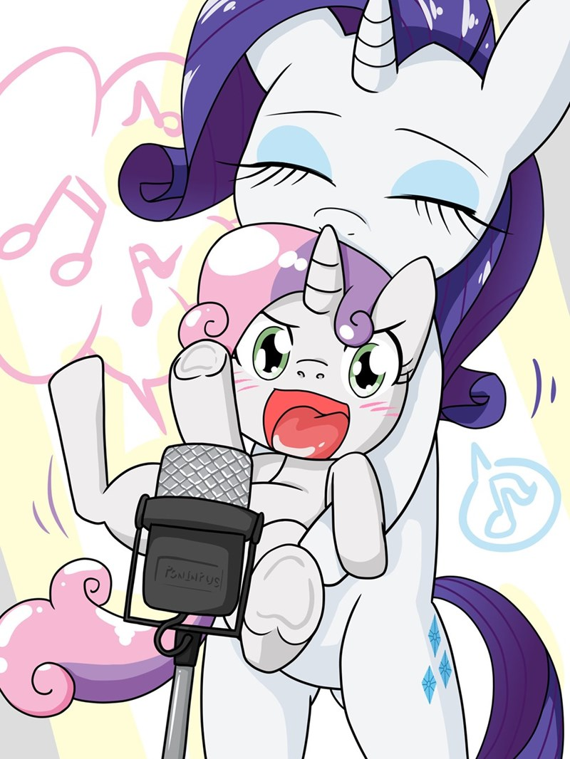 Sweetie Belle rarity batipin - 9561521664