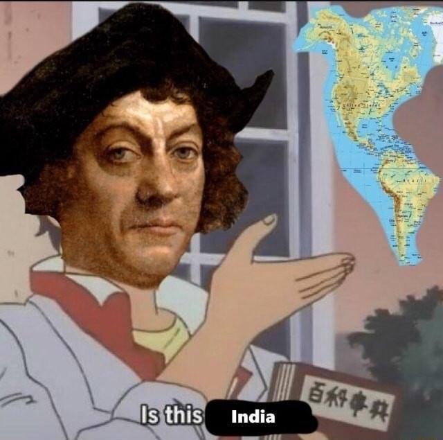 Cartoon - 百科事典 Is this India