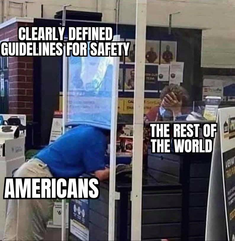 Job - CLEARLY.DEFINED, GUIDELINES FOR SAFETY THE REST OF THE WORLD AMERICANS ROA