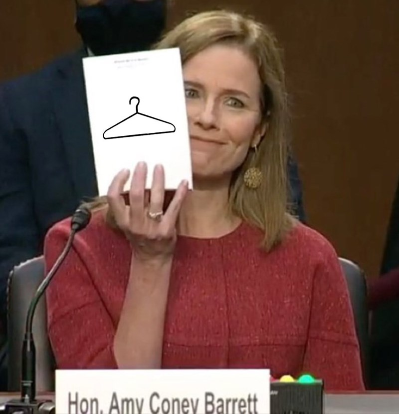 Finger - Hon. Amy Coney Barrett