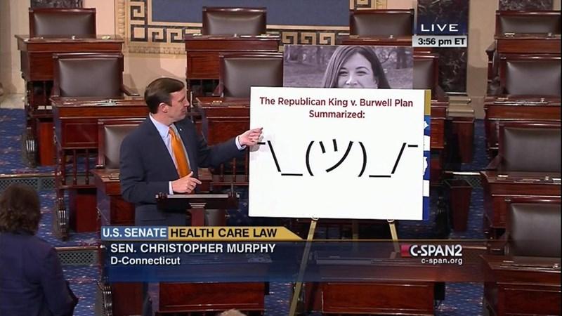 Font - LIVE 3:56 pm ET The Republican King v. Burwell Plan Summarized: U.S. SENATE HEALTH CARE LAW SEN. CHRISTOPHER MURPHY C-SPAN2 D-Connecticut C-span.org
