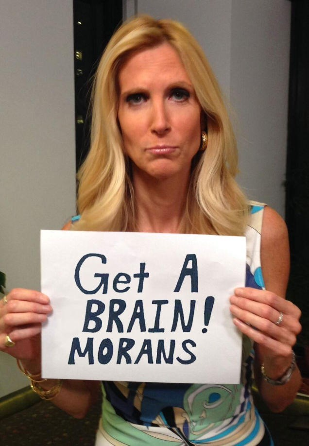Blond - Get A BRAIN! MORANS