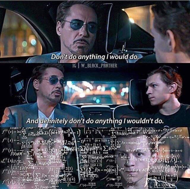 """Movie - Don't do anything I would do. IG W_BLACK PANTHER And definitely don't do anything I wouldn't do. 