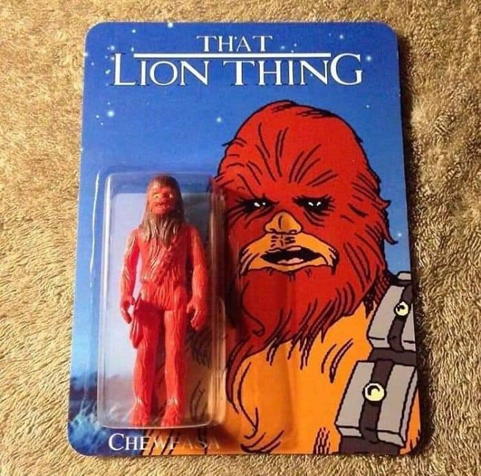 Chewbacca - THAT LION THING CHEW