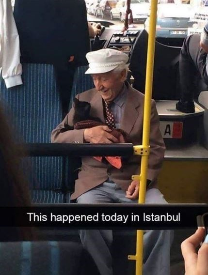 A This happened today in Istanbul