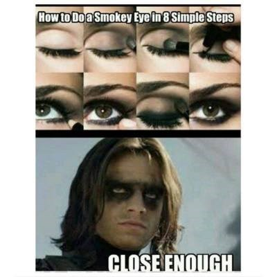 Face - How to Do a Smokey Eye in 8 Simple Steps CLOSE ENQUGH