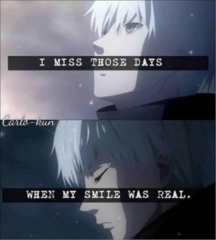 Sky - I MISS THOSE DAYS Carlo-kun WHEN MY SMILE WAS REAL.