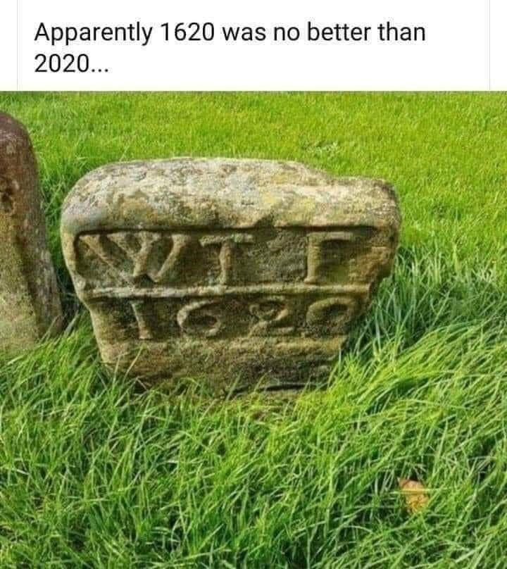 Grass - Apparently 1620 was no better than 2020... NIT C20