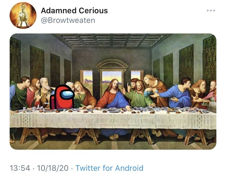 History - Adamned Cerious @Browtweaten 13:54 · 10/18/20 · Twitter for Android