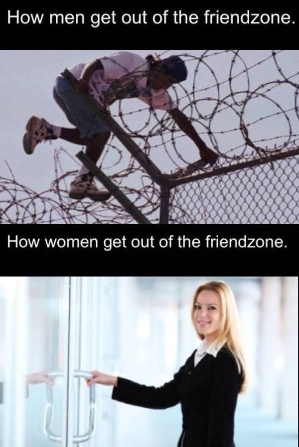 Organism - How men get out of the friendzone. How women get out of the friendzone.