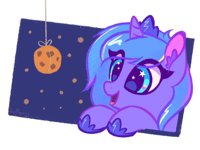 lollipony princess luna - 9566091008