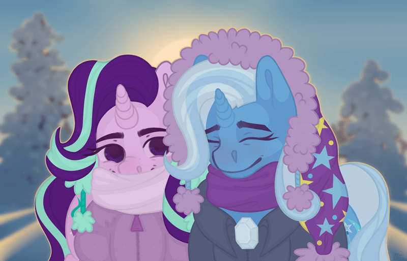 shipping the great and powerful trixie starlight glimmer - 9566091776