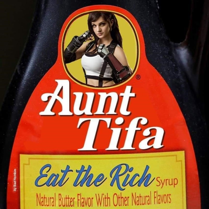Liqueur - Aunt Tifa Eat the Rich smp Syrup Natural Butter Favor With Other Ntual avors by Bad Hombre