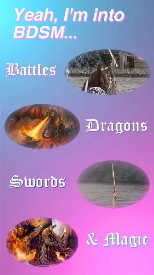 Gemstone - Yeah, I'm into BDSM... Battles Dragons Swords & Magic