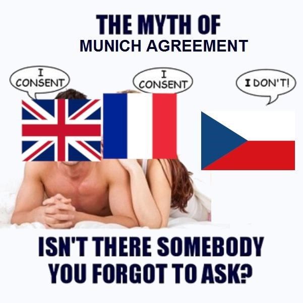 Font - THE MYTH OF MUNICH AGREEMENT CCONSENT I DON'T! CONSENT ISN'T THERE SOMEBODY YOU FORGOT TO ASK?