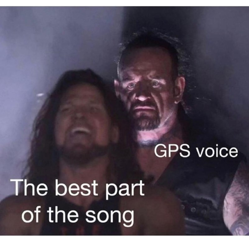 Facial expression - GPS voice The best part of the song