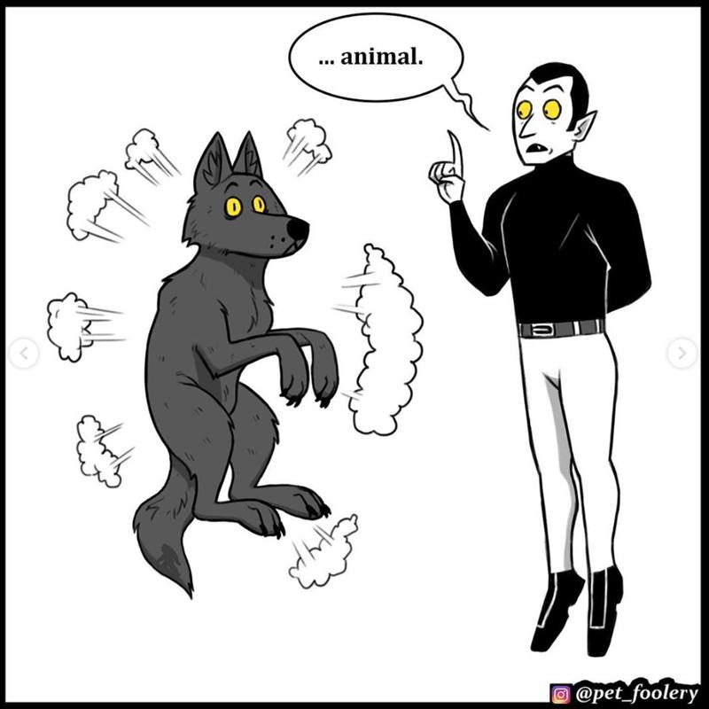 Cartoon - .. animal. @pet_foolery