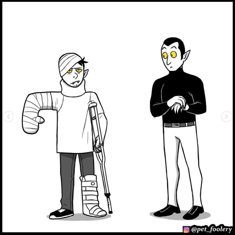 Cartoon - @pet_foolery fo