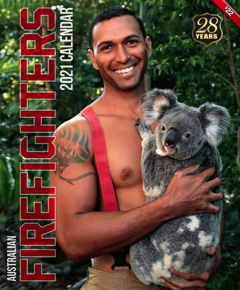 Koala - AUSTRALIAN 2021 CALENDAR FIREFIGHTERS $22