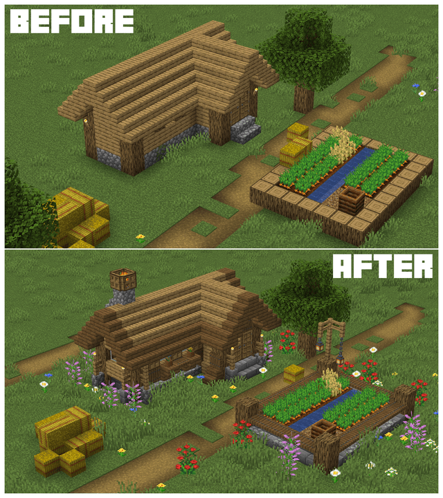 Farm - BEFORE AFTER