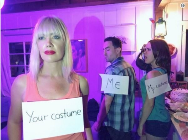 Hair - Me casture Your costume