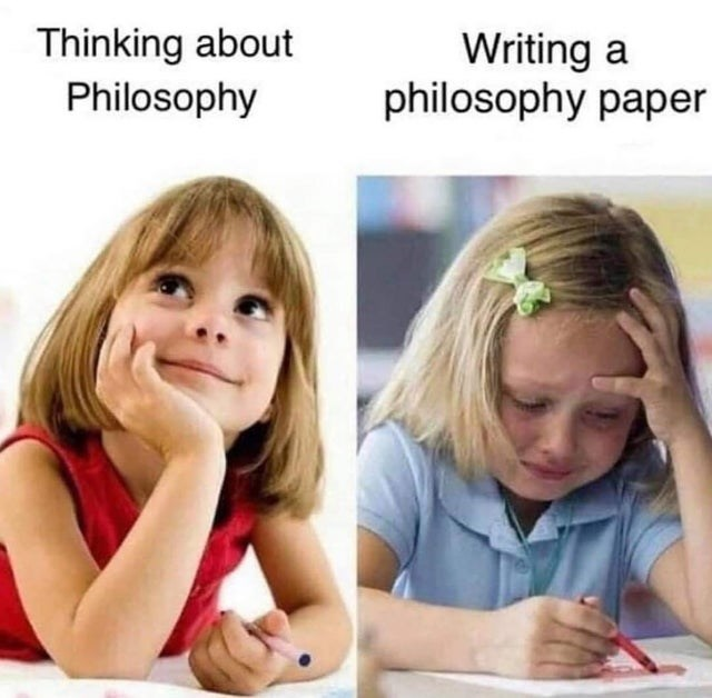 Child - Thinking about Philosophy Writing a philosophy paper
