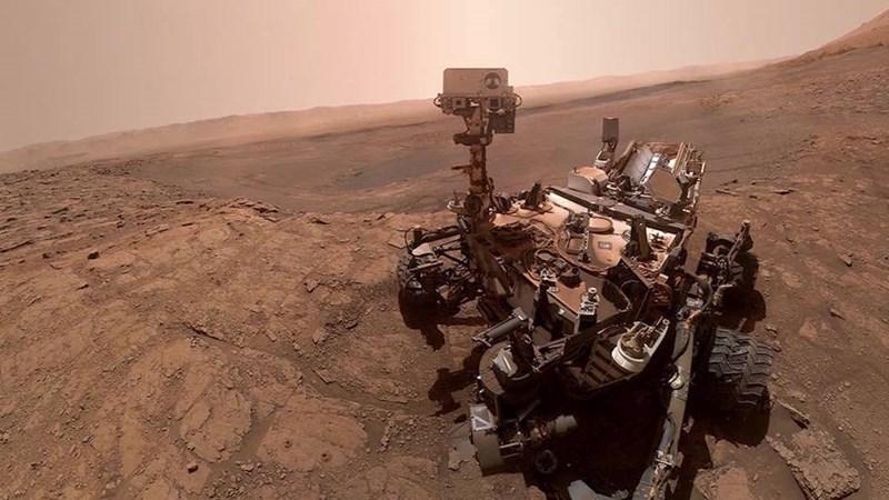 curiosity rover's new selfie that it took on mars
