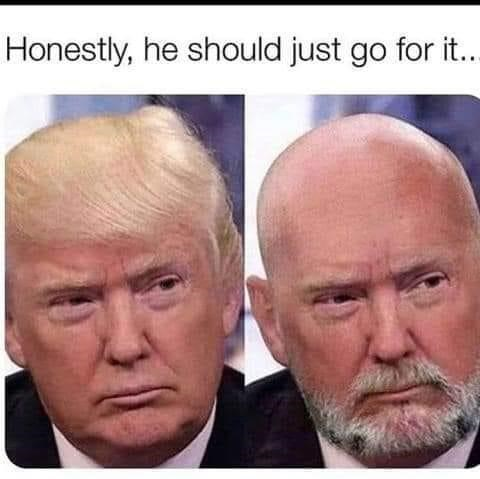 Face - Honestly, he should just go for it..