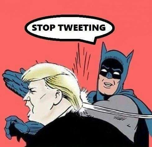 Batman - STOP TWEETING