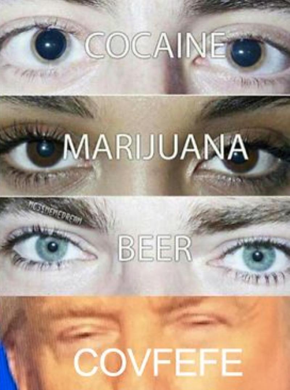 Face - COCAINE MARIJUANA SSHEMEDRERM BEER COVFEFE