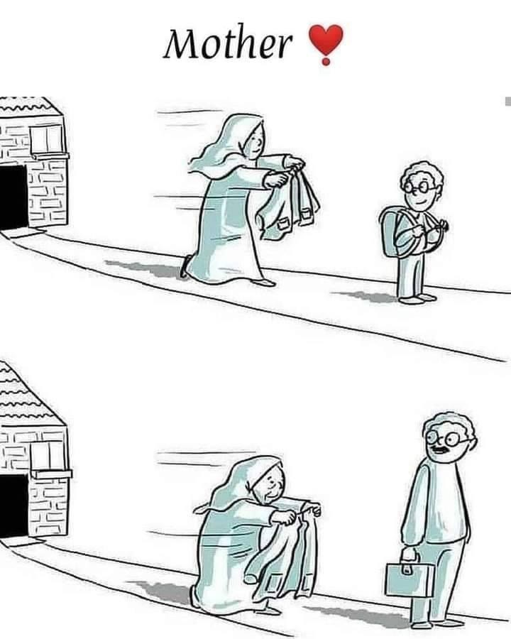 Cartoon - Mother