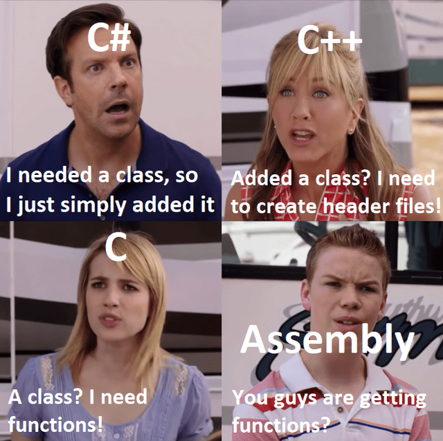 Hair - C# C++ I needed a class, so I just simply added it to create header files! Added a class? I need Assembly A class? I need functions! You guys are getting functions?