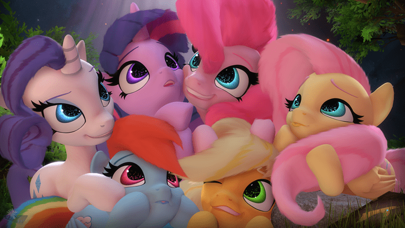 hooves-art applejack twilight sparkle pinkie pie rarity fluttershy rainbow dash - 9569419008