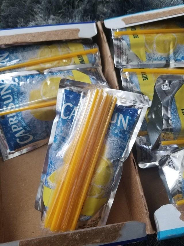 Yellow - UN NTS 1DE ADE Detache INAD CAPRISUN