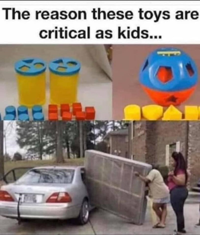 Motor vehicle - The reason these toys are critical as kids...