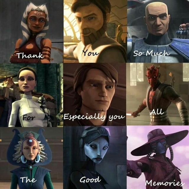 Fictional character - Thank You So Much For Especially you The Good Memories