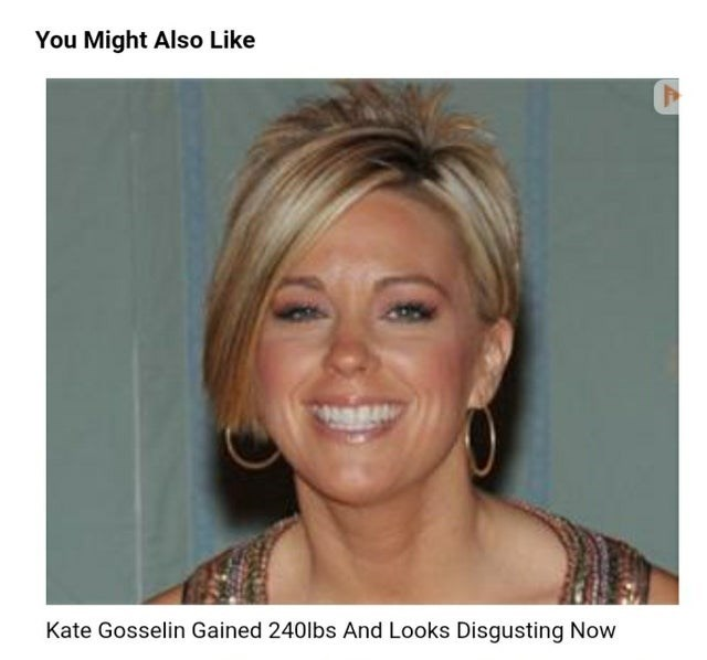 Face - You Might Also Like Kate Gosselin Gained 240lbs And Looks Disgusting Now
