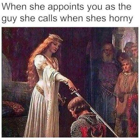 Painting - When she appoints you as the guy she calls when shes horny