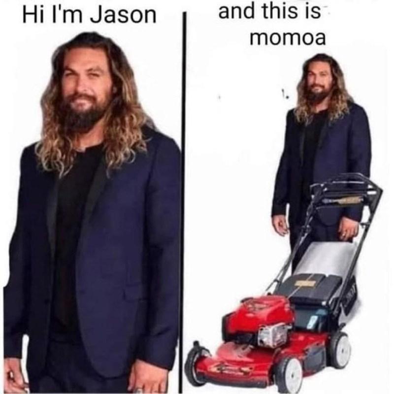 Product - Hi I'm Jason and this is momoa