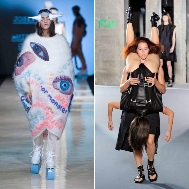 Fashion model - 2PE Hev cor monster