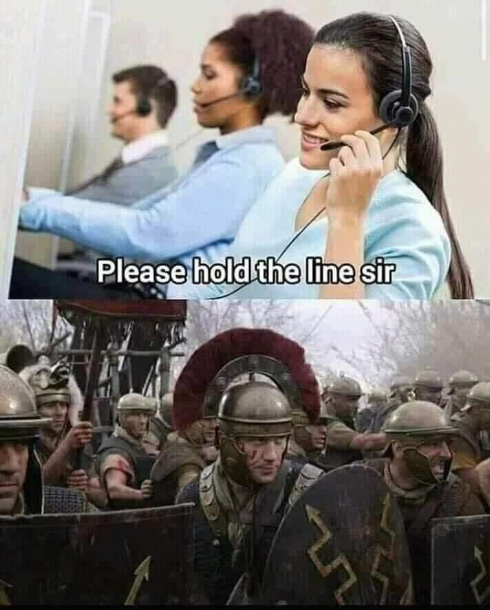 Movie - Please hold the line sir