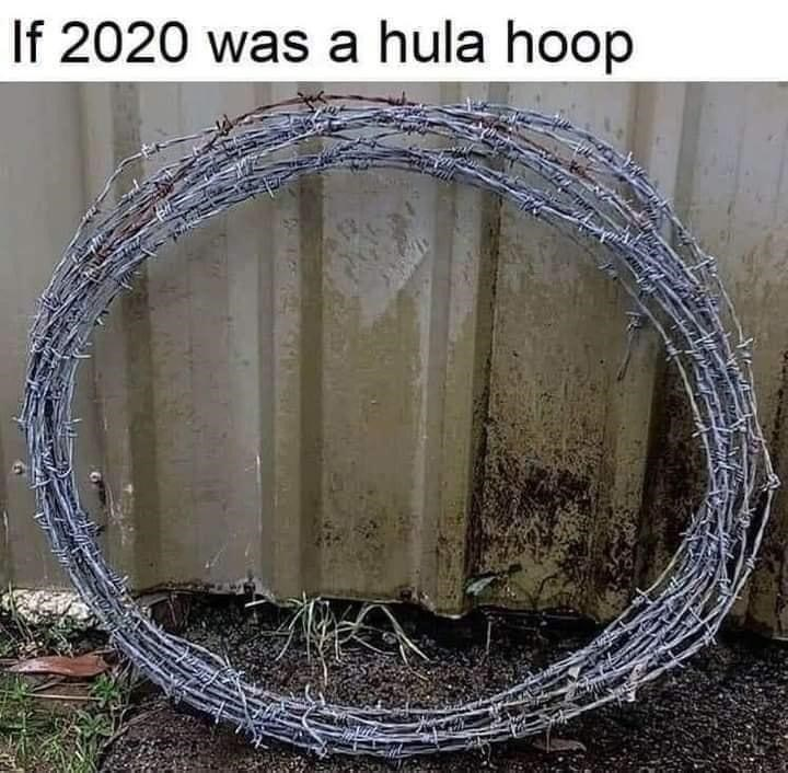 Wire - If 2020 was a hula hoop